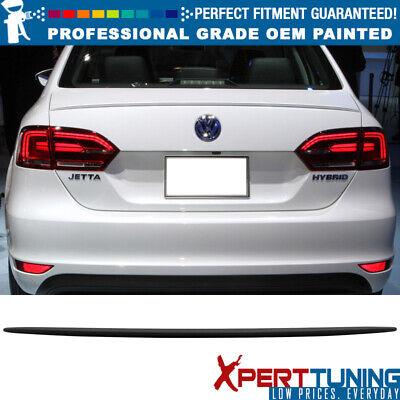 Volkswagen Jetta 06-10 4Dr Trunk Spoiler Painted PLATINUM GRAY METALLIC LD7X