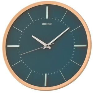 Seiko Wall Clock With Sweep Second Hand Qxa731y New Ebay