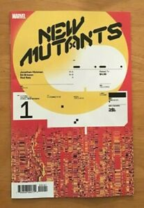 New-Mutants-1-2019-Tom-Muller-1-10-Incentive-Variant-Cover-Marvel-Comics-VF-NM
