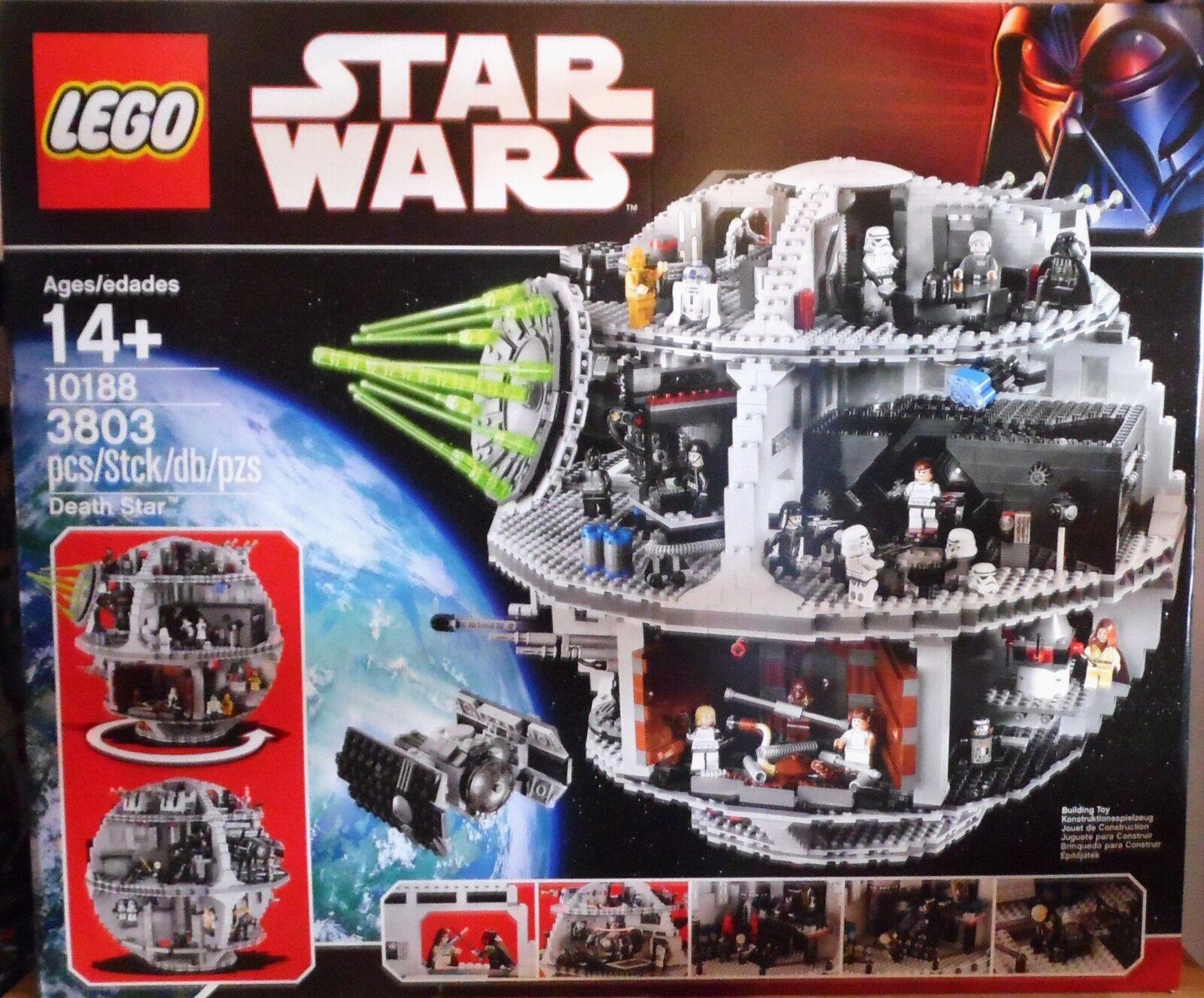 LEGO 10188 Death Star morte nera non aperto RAR NEW SEALED NUOVO