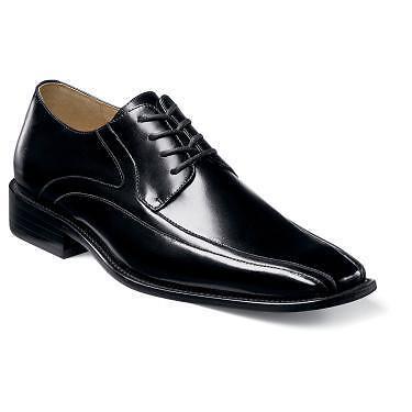 Senza tasse Stacy-Adams Uomo Peyton lace-ups Leather nero scarpe scarpe scarpe 24610-001  prendi l'ultimo