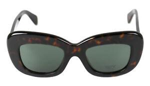 Celine-gafas-de-sol-034-Diane-034-cl-41432-s-acetato-plastico-la-habana-Dark-marron-gris