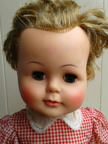 VINTAGE 1961 IDEAL 22 INCH KISSY SHIRLEY TEMPLE DOLLS