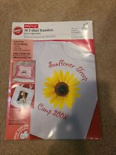Wilton Easyimage T Shirt Iron On Transfers 10 Sheets 8 X 11 Complete