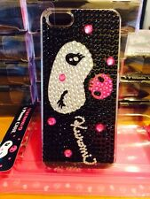 Hello Kitty Kuromi Bling Bling Black Phone Case For Iphone 5/5s