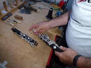 Generalüberholung Holzblasinstrumente Musikhaus Bumerang