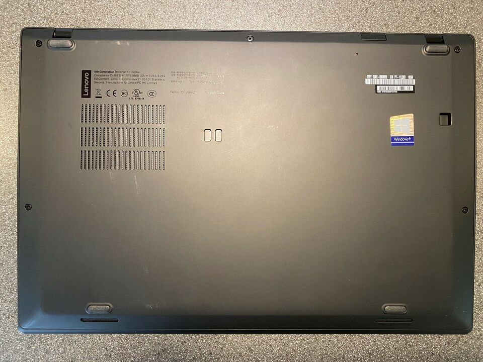 Lenovo X1 Carbon (6th gen)