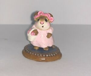Wee Forest Folk The Flower Girl C-6 Annette Peterson|All PROFITS Donated Corona
