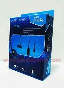 CASCOS AURICULARES PARA PS4 PC GAMING