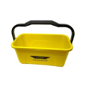 Cleaning Bucket 3 Gallon Heavy Duty Multi-Purpose With Handle Highly Visible