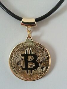 Gold plated bitcoin necklace bitcoin jewellery bitcoin pendant image is loading gold plated bitcoin necklace bitcoin jewellery bitcoin pendant aloadofball Choice Image
