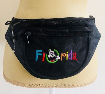 Fanny Pack Black /& White Peeking Mickey Face Belly Bag Disney Mickey Mouse