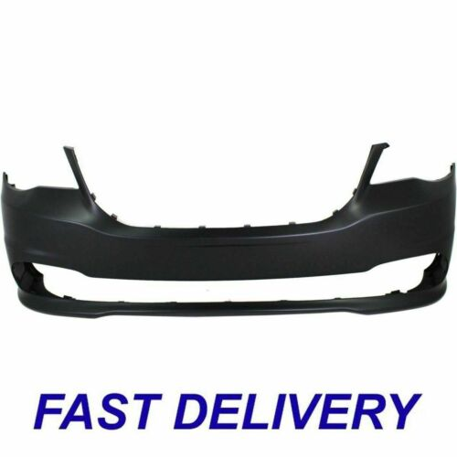 New Front Primed Bumper Cover Fits Dodge Grand Caravan CH1000A02