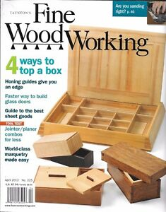 Fine Woodworking Magazine Top A Box Glass Doors Best Sheet Goods