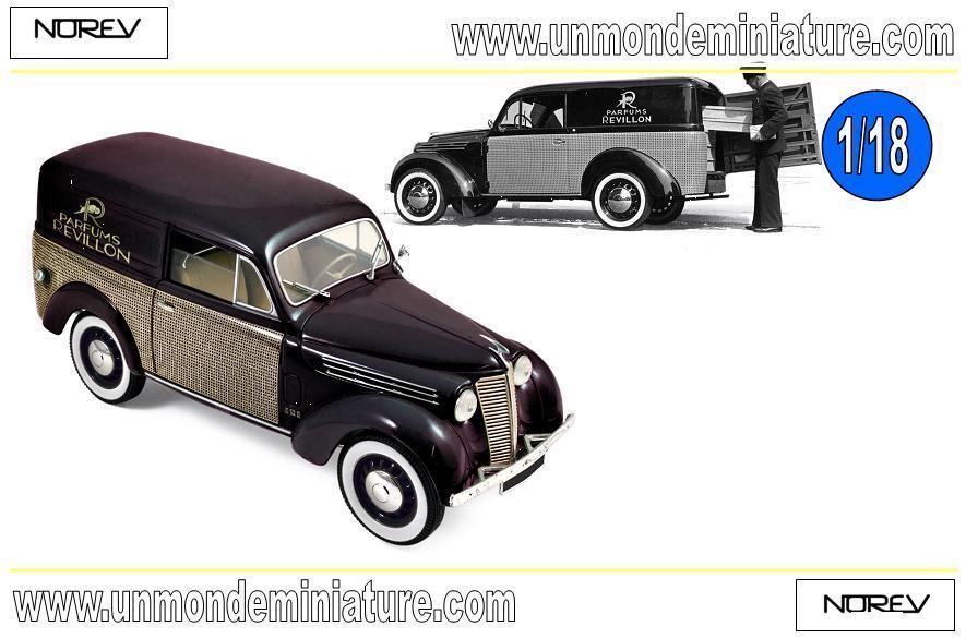 Renault 300 kg Juvaquatre 1953 Parfums Revillon  NOREV - NO 185261 - Ech 1 18