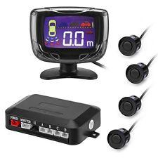 Car Parking Reverse Backup Radar LCD Display 4 Sensors Buzzer Auto Detector Kit