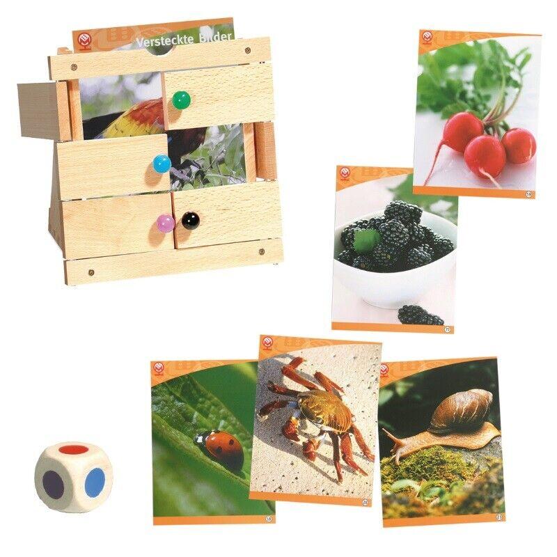 Ties magnétique jeux cachés images nature photos 5059 volets jeu