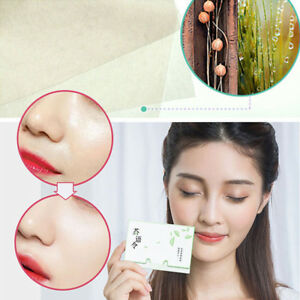 100Pcs-Make-Up-Oil-Control-Oil-Absorbing-Blotting-Facial-Face-Clean-Paper