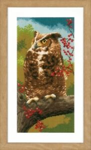 Owl-in-Autumn-Vervaco-Cross-Stitch-Kit-New