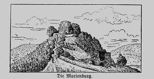 Mosel * la Marien Castello * vista da lontano * 1910 *