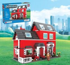 Red House Builder BricTek Building Block Construction Toy Brick 21601 Bric Tek