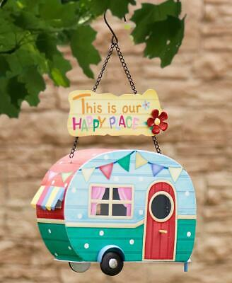 Colorful Retro Camper Rv Birdhouse Ready To Hang Garden Yard Decor Ebay