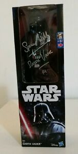 Rare-Signed-Spencer-Wilding-STAR-WARS-Force-Awaken-Darth-Vader-Sith-Jedi-Figure