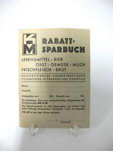Rabatt-Sparbuch-60er-Jahre