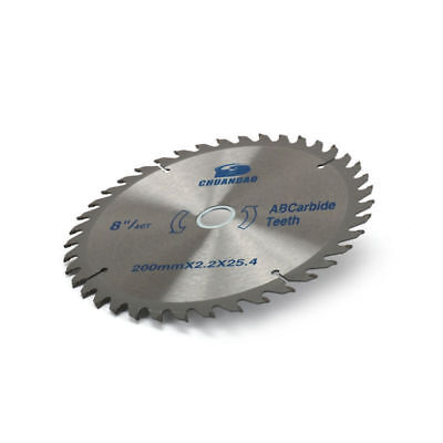 8 Inch Carbide Tipped Circular Saw Blade For Wood Cutting Woodworking 40 Tooth