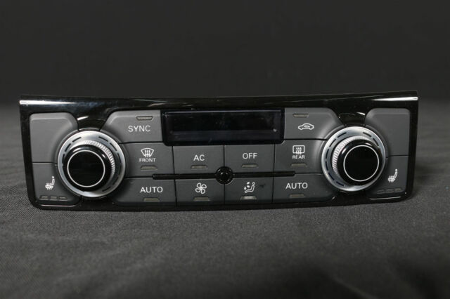 Audi A8 S8 4H Air Control Panel Heated Seats Climatronic 4H0820043D