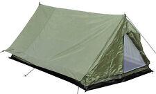 NEU MFH Zelt Minipack 2 Personen Campingzelt Oliv Bundeswehr BW 213x137x97cm
