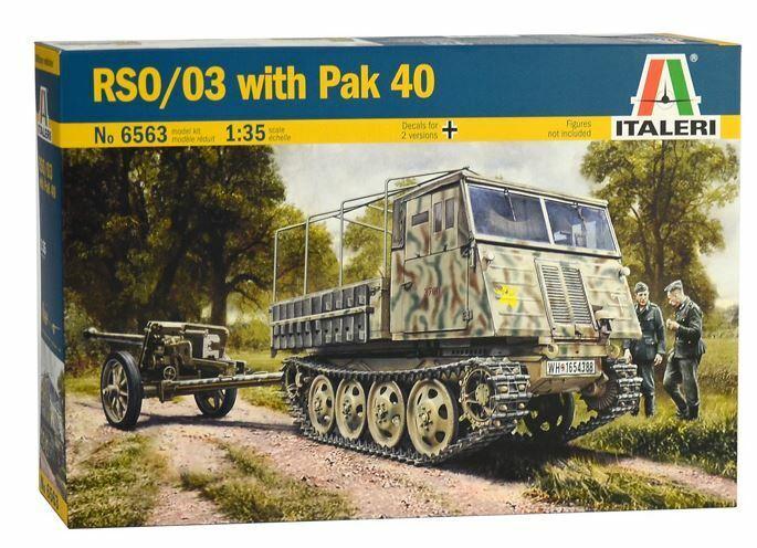 Italeri 1 35 RSO 03 with Pak 40