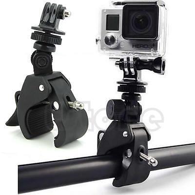 New Camera Handlebar Tripod Mount+Adapter Clamp Roll Bar