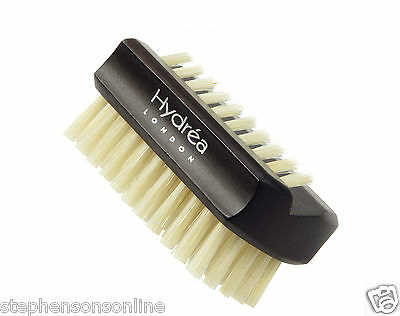 Hydrea London Dual Sided Rosewood Nail Brush Natural Bristle WRH1 Travel Size