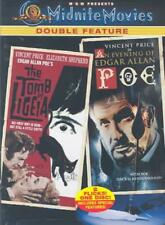 The Tomb of Ligeia/An Evening of Edgar Allan Poe - Midnite Movies Double Feature (DVD, 2003, Two Films on One Disc)