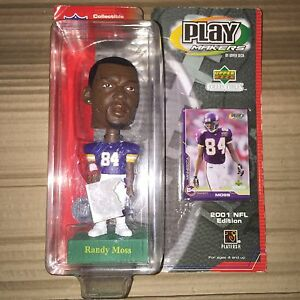 Randy Moss Upper Deck Playmakers Bobblehead Minnesota