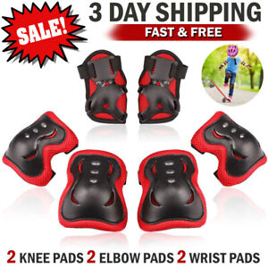 Knee-Elbow-Wrist-Pads-Guards-Set-Gift-for-Kids-Children-Roller-Cycling-Bike-Pad