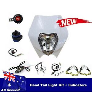 DIRT-REC-REG-LIGHTING-KIT-Yamaha-Honda-Suzuki-Kawasaki-KTM-Head-Light-Indicators