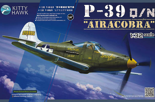 ◆ Kitty Hawk 1 32 KH32013 P-39Q N Airacobra 1943
