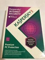 Kaspersky Internet Security 3 Pcs Premium Protection Free Shipping