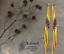 7-034-Extra-Long-Yellow-Beaded-Earrings-Ombre-Shoulder-Dusters-Long-Seed-Bead-Earrin thumbnail 3
