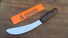 Rare UNUSED Vintage VILLAGE BLACKSMITH Watertown, WI Carbon Steel Skinning Knife