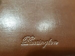 BARRINGTON TRAVEL ORGANIZER BREST WALLET  LEATHER  BNWOB FREE SHIPPING & FAST
