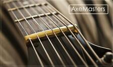 AxeMasters BRASS NUT made for IBANEZ SR Series 4 String Bass Guitar
