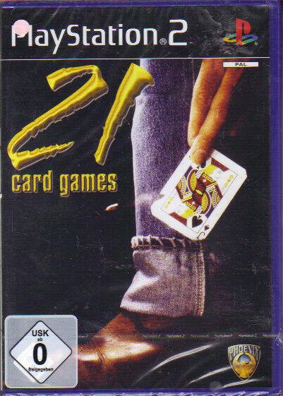 21 Card Games (Playstation 2)