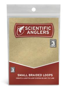Medium Scientific Anglers Braided Loops 3 Pack