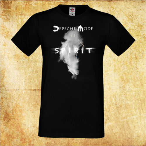 MEN//HERREN T-SHIRT DEPECHE MODE GLOBAL SPIRIT TOUR /'17 2 ROCK BLACK TEE