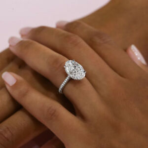 gold zirconia rings double engagement ct cubic white halo over ring p silver plated wedding zirnonia tw in