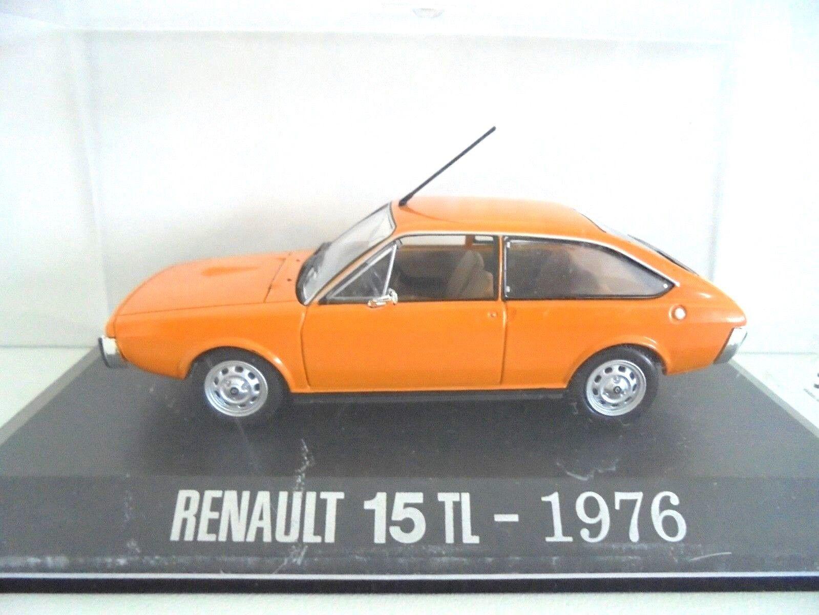 1 43 . RENAULT 15 TL de 1976    U.H