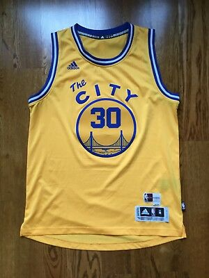stephen curry yellow jersey